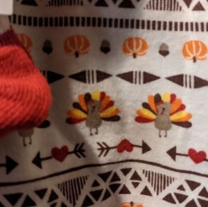 Little Lass Matching Sets - (2) Holiday Pieces Thanksgiving+Xmas